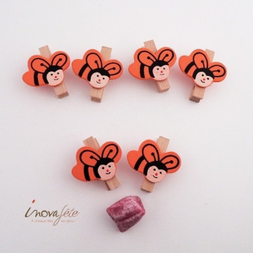 Pince abeille orange /6