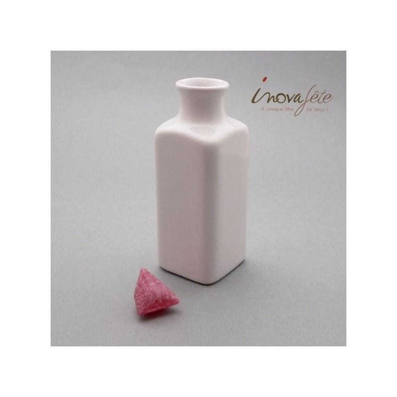 Vase soliflore blanc