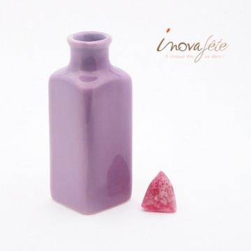 Vase soliflore violet