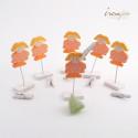 Gerbera orange /4