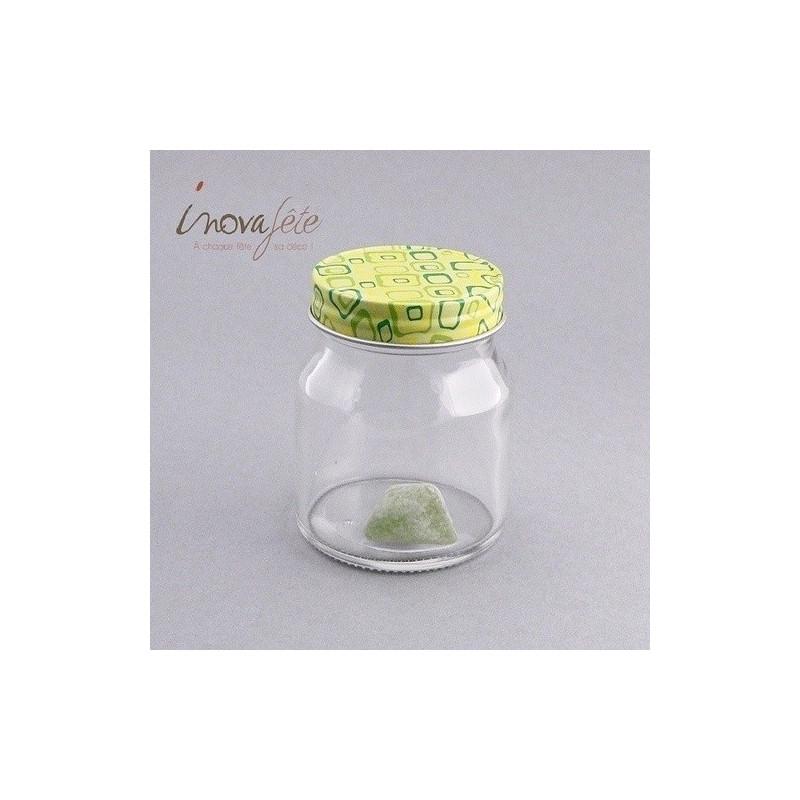 Pot à confiseries en verre - Label Fête