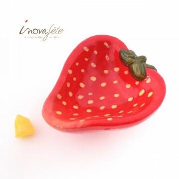 Coupe fraise en céramique - Label Fête