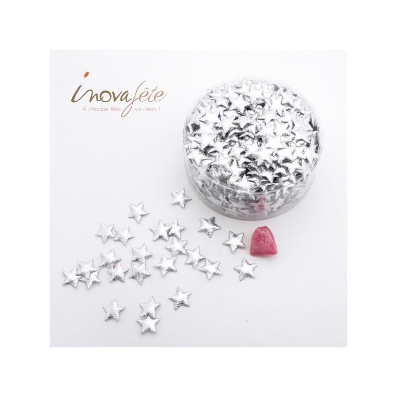 Confettis étoiles argent /790