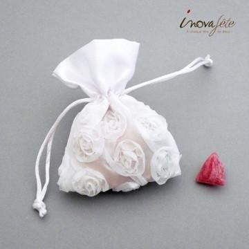 Sac floral blanc à garnir /4