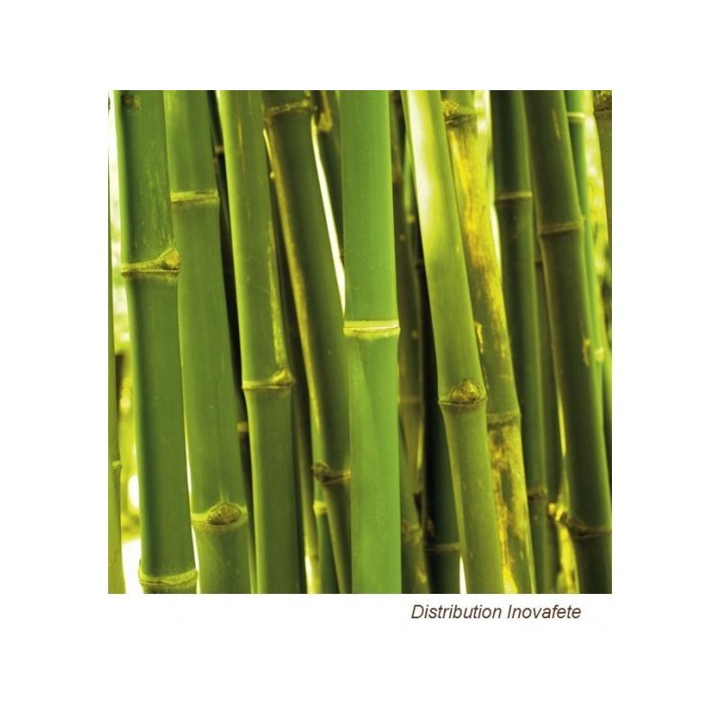 Serviettes papier décor bamboo 33x33 cm