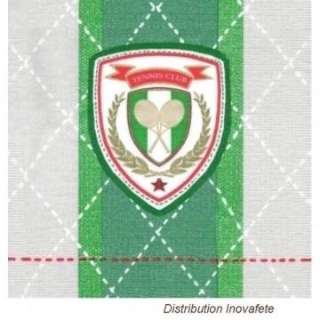 Serviettes papier décor tennis 33x33 cm