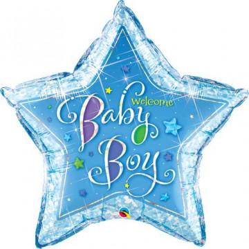 Ballon welcome Baby boy