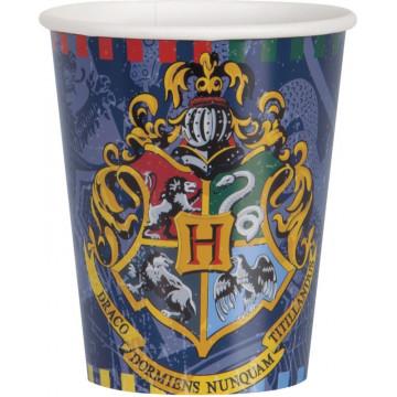 gobelets sorcier harry potter Label Fête Hillion U59106 59106