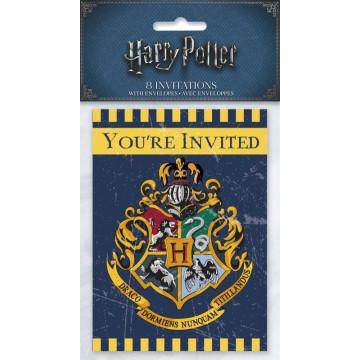 Invitations anniversaire Harry Potter /8