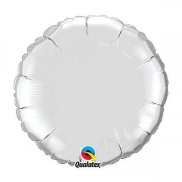 Ballon Rond Argent Qualatex 23145