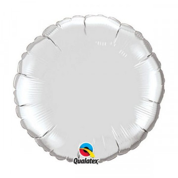 Ballon Rond Argent Qualatex 23145