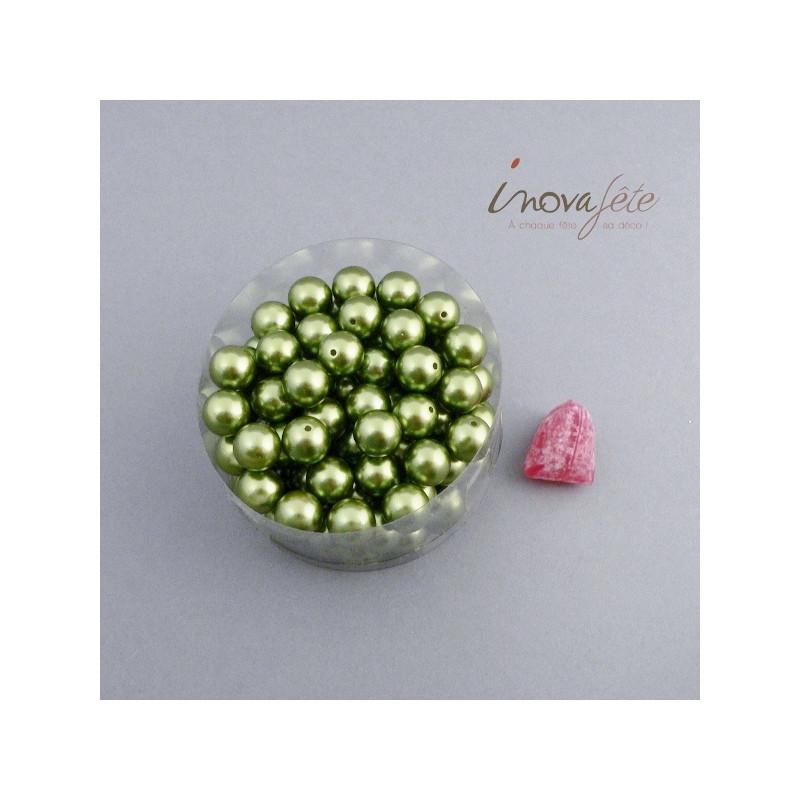 Perle boule verte Label Fête Hillion