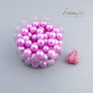 Perle boule rose fuchsia Label Fête Hillion