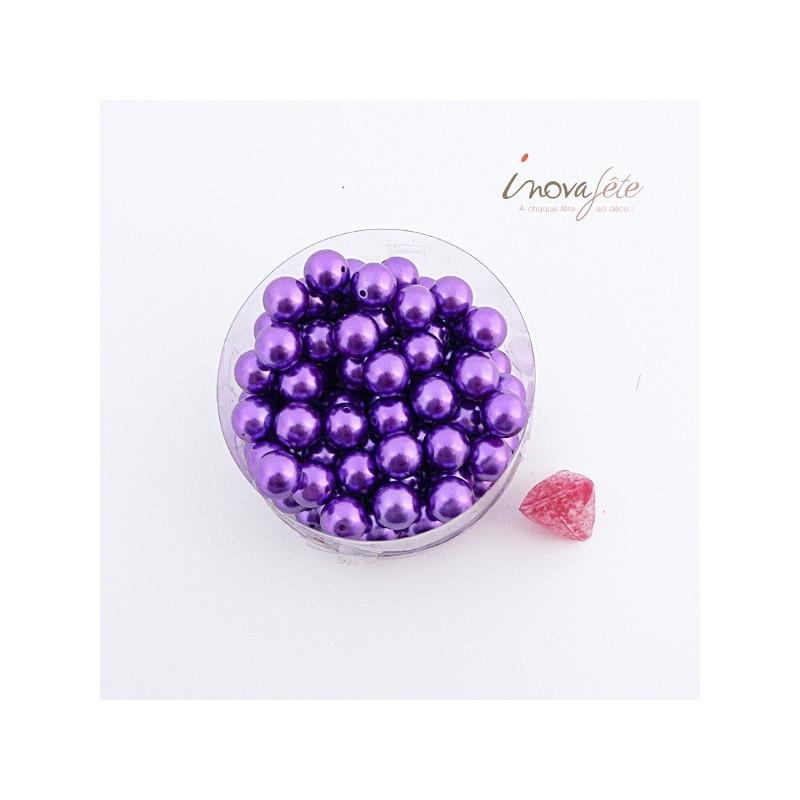 Perle boule violet - Label Fête Hillion