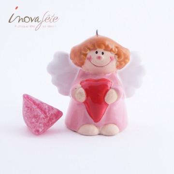 Déco petit Ange Rose Label Fête Hillion