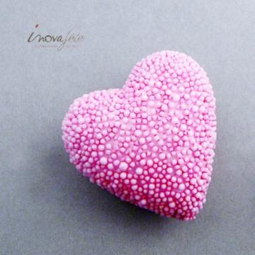 Cœur décoratif rose