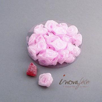Fleur en organza rose - Label Fête