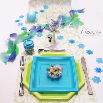 Fleur bleue polytulle