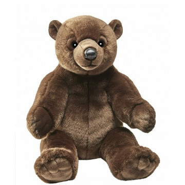 Peluche Ours Brun Cacao Assis
