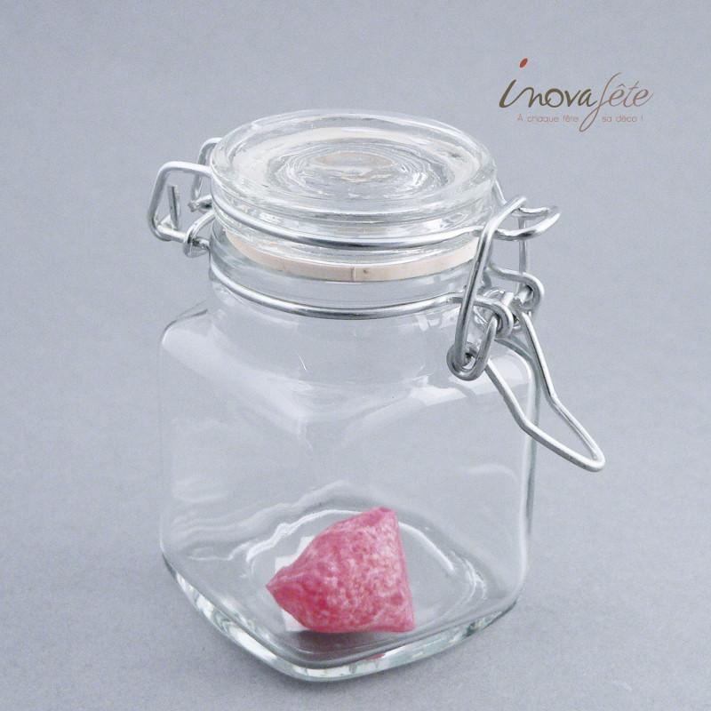 Petit bocal verrine cube - Label Fête