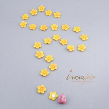 Petite fleur jaune /24 - Label Fête