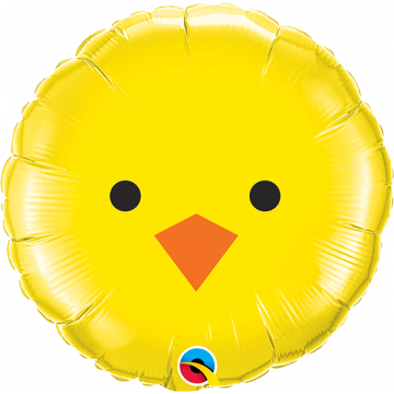 Ballon Poussin Jaune Qualatex®