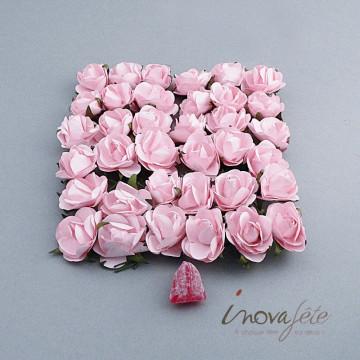 Fleur rose /36 - Label Fête