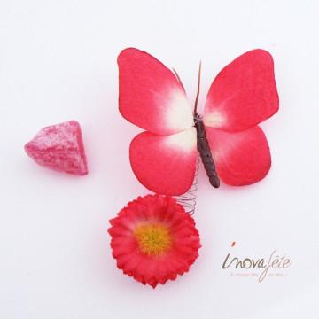 Fleur et papillon /6 - Label Fête
