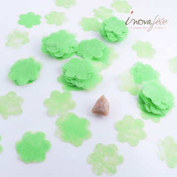 Fleur verte polytulle /240 - Label Fête