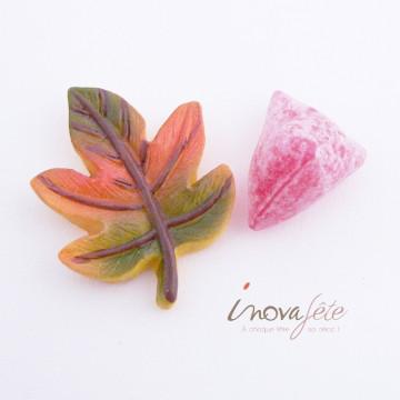 Feuille en céramique /12 - Label Fête