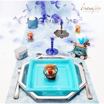 Photophore bleu - Label Fête