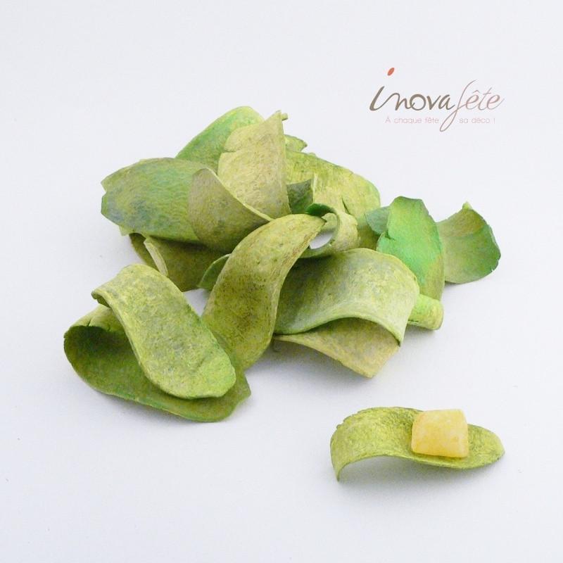 Écorce de magahony vert /30 Label Fête