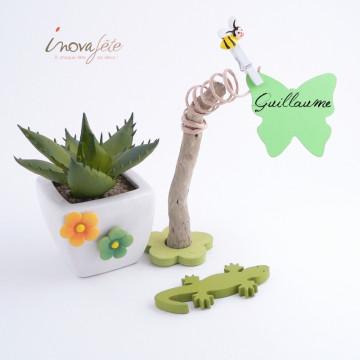 Petite fleur verte /24 - Label Fête