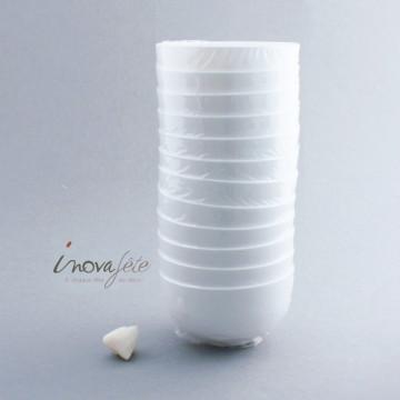 Verrine ronde blanche /12 - Label Fête