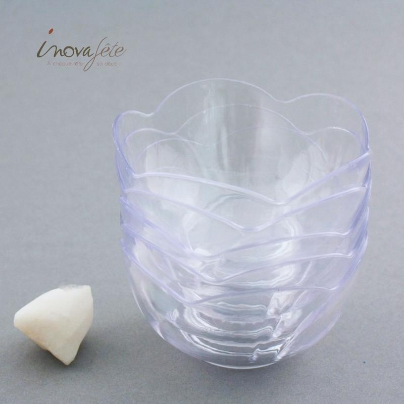 Verrine ronde transparente /5 - Label Fête