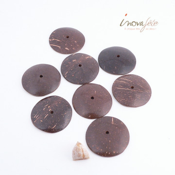 Bouton chocolat /8 - Label Fête