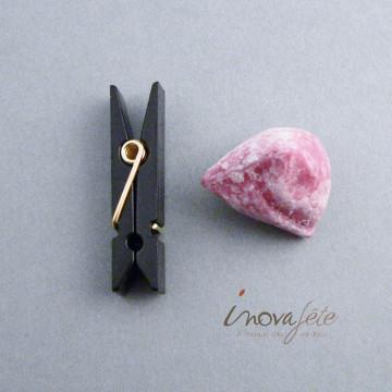 Petite pince noire /48 - Label Fête