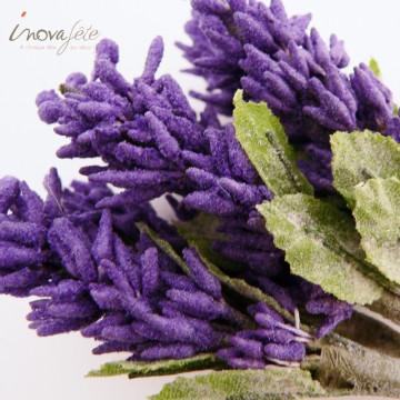 Bouquet lavande artificiel - Label Fête
