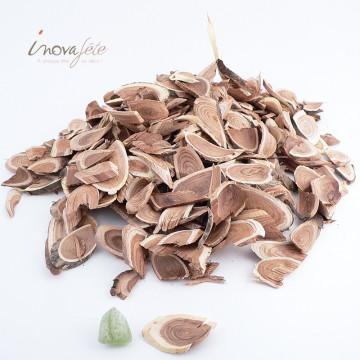 Rondelles de bois naturel - Label Fête