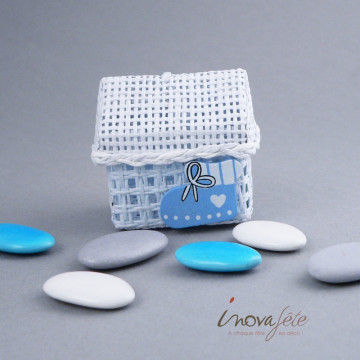 Décor bébé bleu /12 - Label Fête