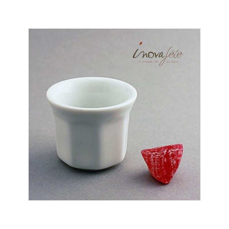 Pot porcelaine blanche