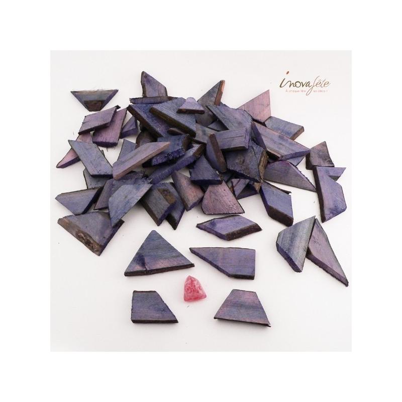 Bois gris lazur violet /48