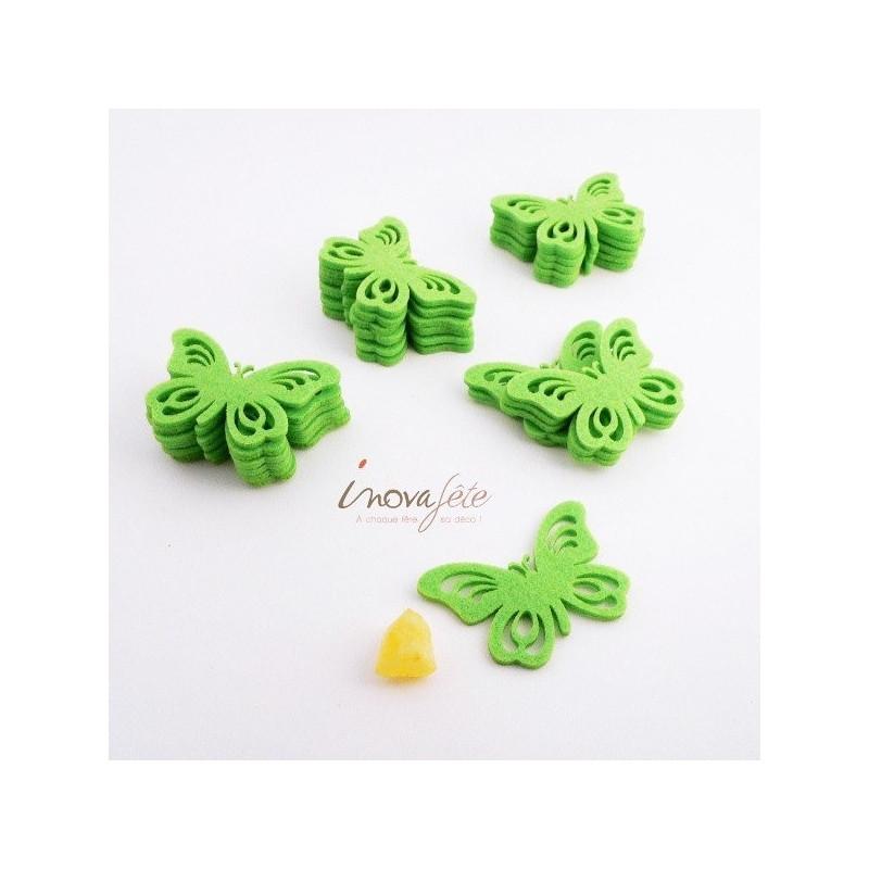 Papillon vert /24