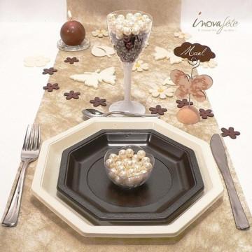 Fleur de bois chocolat /16