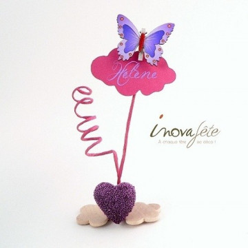 Coeur violet /12