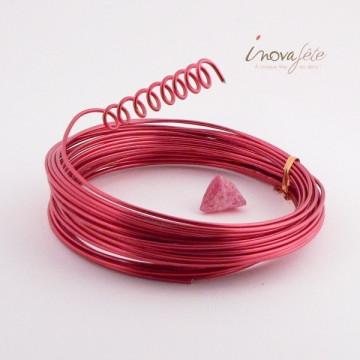 Fil aluminium rouge