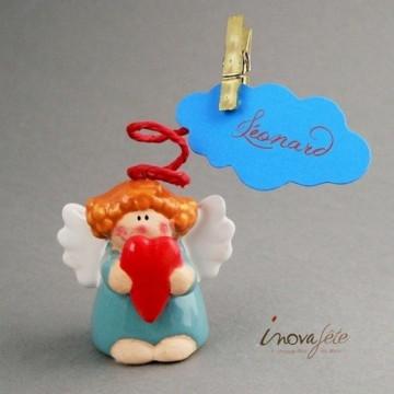 Etiquette nuage bleu turquoise /25