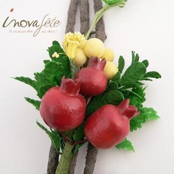 Branche de fruits sur pince