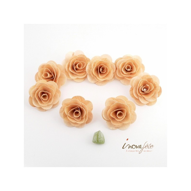 Rose en bois /8